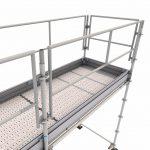 Sistema de Pisos e Rodapés em Alumínio